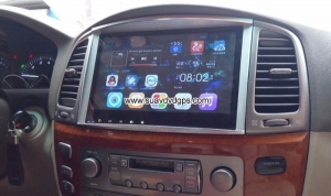Toyota Land Cruiser 100 car radio android wifi gps navigation camera