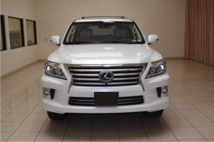 Lexus LX 570 2013 AWD WHITE JEEP For Sale